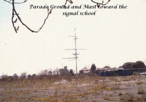 parade ground and mast