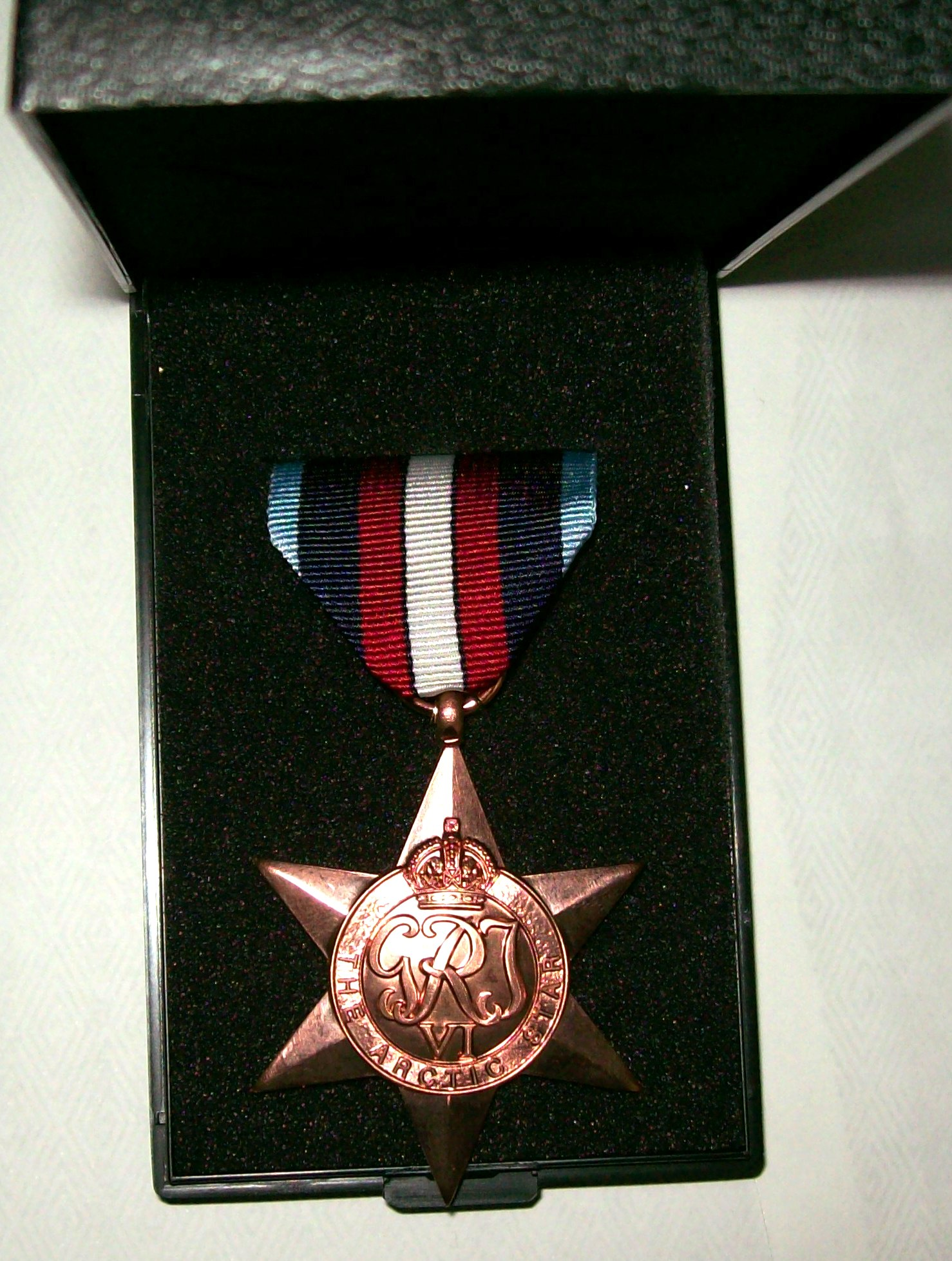Awarded to Brian's Father