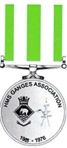H.M.S.GANGES MEDAL