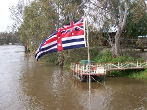 Murray River ensign