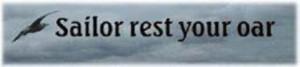 Sailor - rest your oar-2